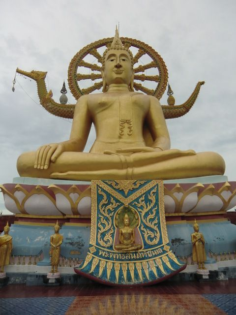 Big Buddha in Großaufnahme