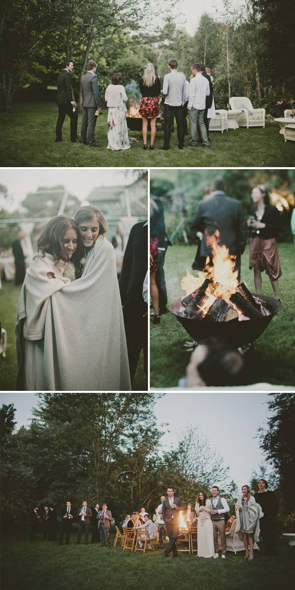 Hey look a casual backyard wedding for Small intimate wedding ideas