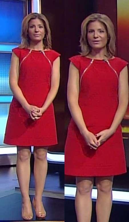 Jen Carfagno hot legs