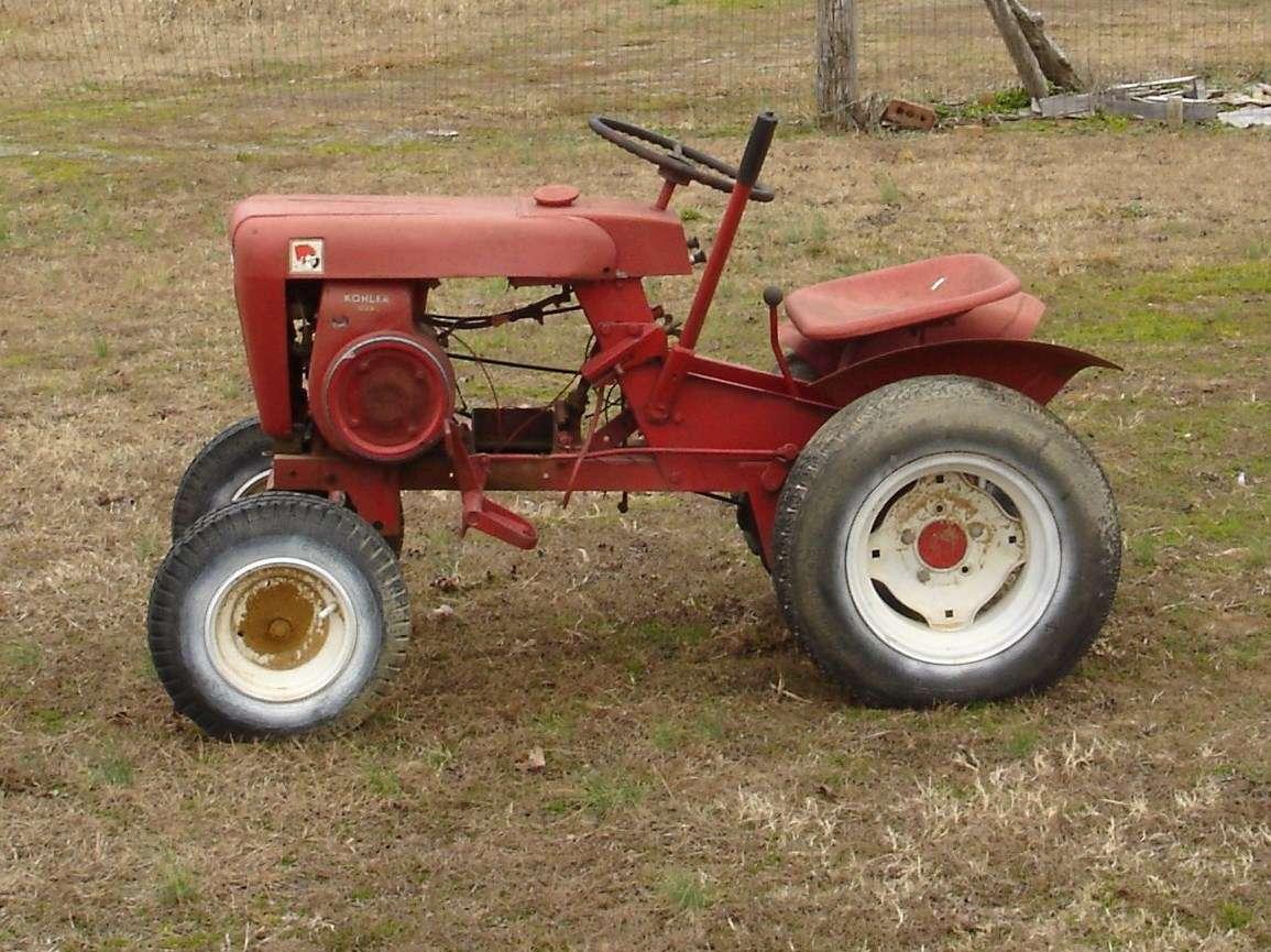 Wheel Horse Tractors : Wheel horse toro tractor forum