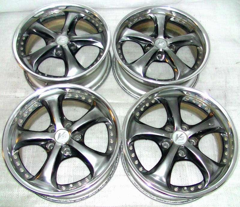 WORK VS-KF Alloy rims wheels 17 7J 5x114 Supra RX7 RX8 S14 S13 R