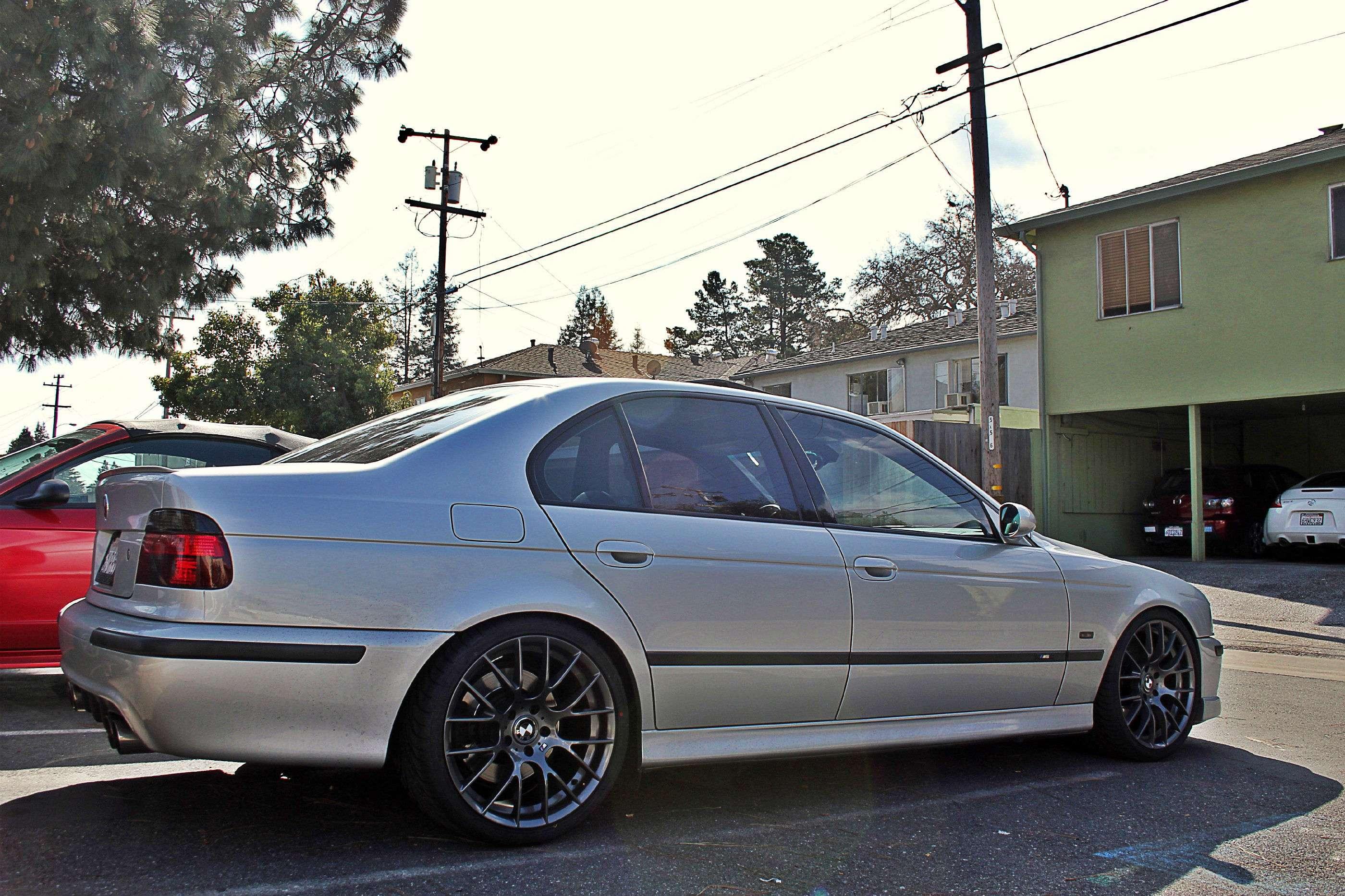 San Jose BMW >> E39 M5 TiAg - Style 359/ZCP 19x9.5 Square Setup